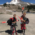 We know there is Snow Somewhere!  Mt Hood 2017